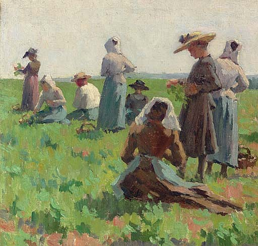 Working in the Fields, Brittany
