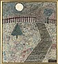 Point Hill; October Moon; Excavated City; and Landscape with flowering base, John Christopherson, Click for value