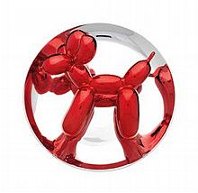 JEFF KOONS (B. 1955)  - Balloon Dog (Red)