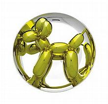 JEFF KOONS (B. 1955)  - Balloon Dog (Yellow)