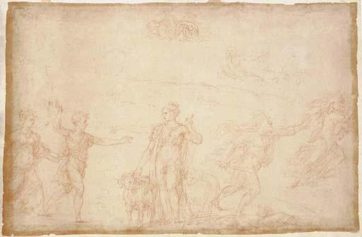 Nicolò dell'Abbate (Modena <I>circa</I> 1512-1571 Fontainebleau)