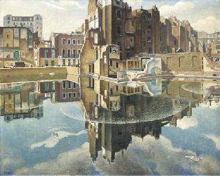 Adrian Allinson, R.O.I. (1890-1959)