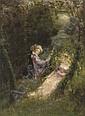 In the garden of love, Paul Albert Laurens, Click for value