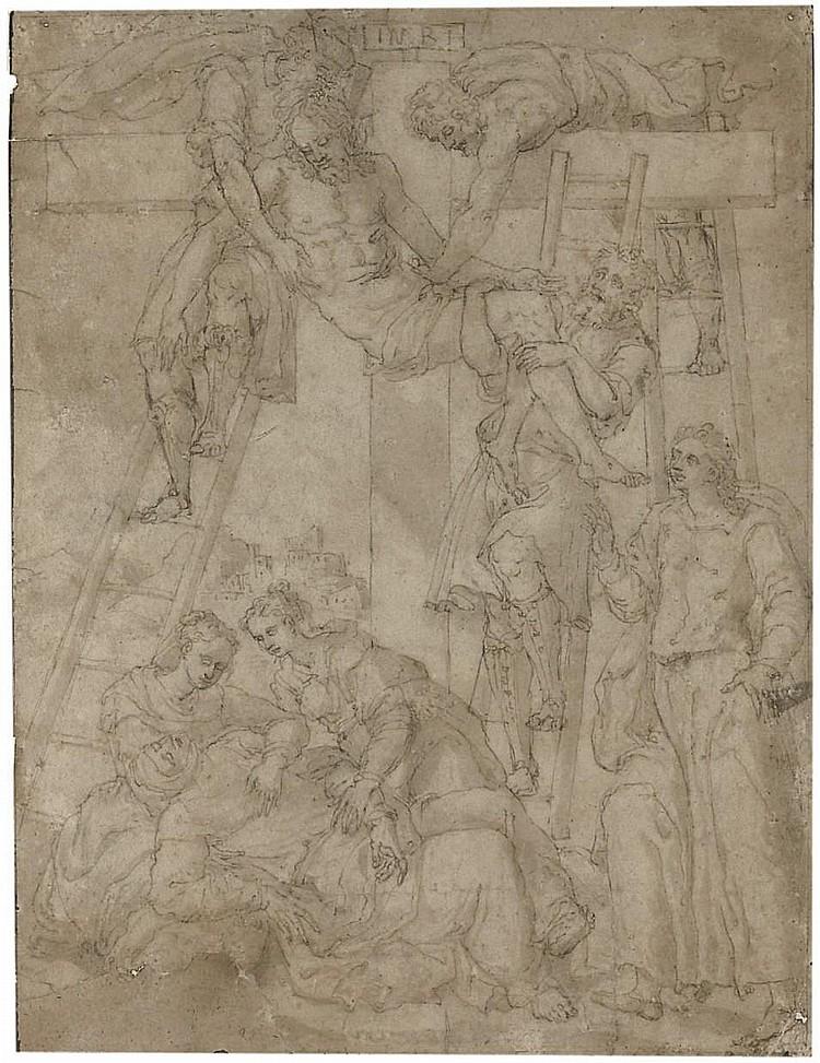 Attributed to Lambert Suavius (Liege  circa  1510-1562/7 Frankfurt am Main)