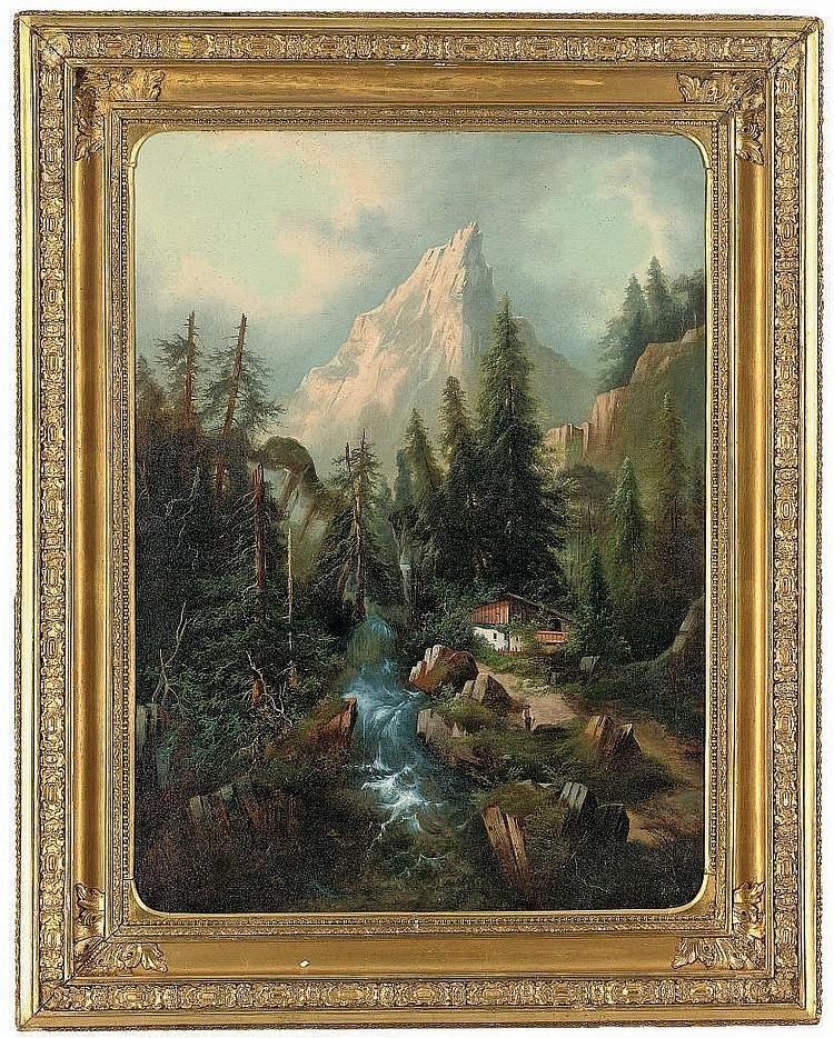 Albert Lang (German 1847-1933)