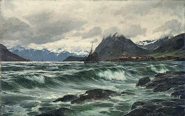 Laurits Bernhard Holst (DANISH, 1848-1934)