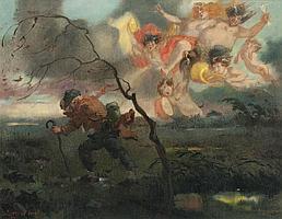 Karel Stroff (Czech, 1881-1929)