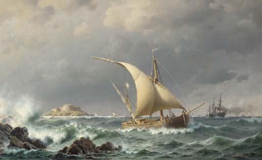 Christian Frederick Emil Eckardt (Danish, 1832-1914)