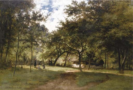 CESAR DE COCK (GAND 1823-1904)