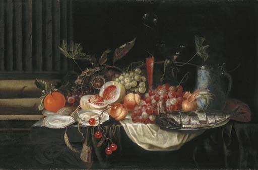 ATTRIBUE A JAN PAUWEL GILLEMANS LE VIEUX (ANVERS 1618-1675)