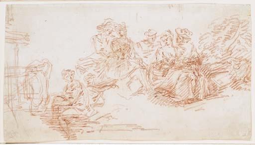 Attribué à Pierre-Antoine Quillard (1701-1733)