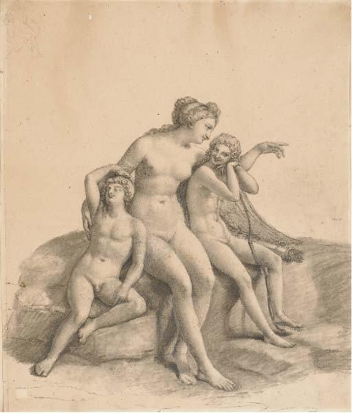 Attribué à Marie-Françoise-Constance La Martinière Mayer (1775- 1821)