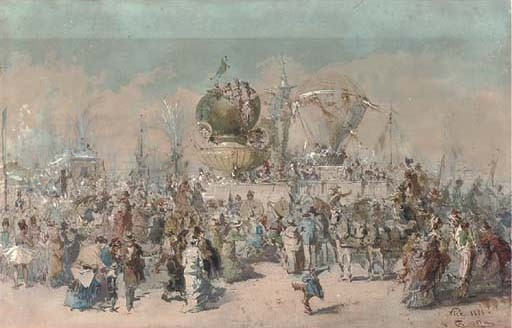 Emmanuel Costa (French, 1833-1921)