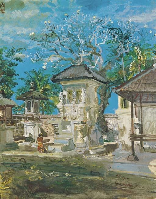 <B>S. SUDJOJONO</B> (Indonesia 1914-1986)