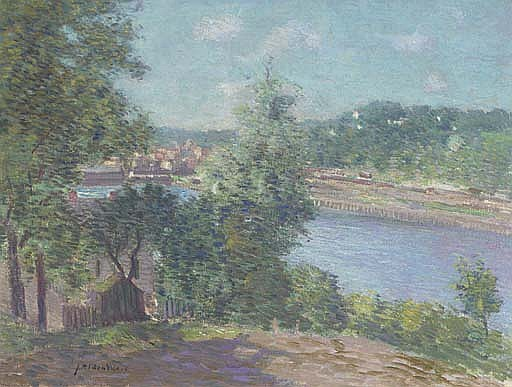 River Scene Near Norwich, Connecticut