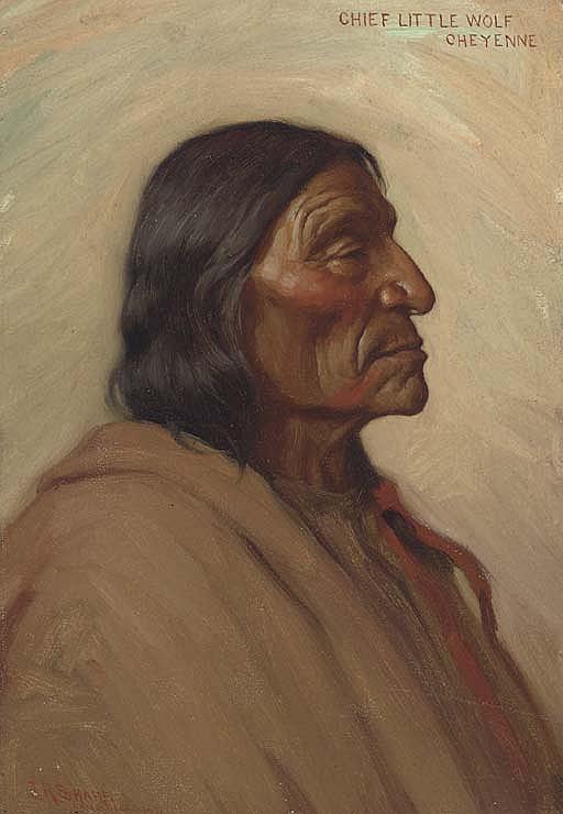 Chief Little Wolf, Cheyenne