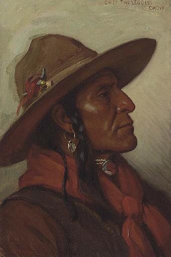 Chief Two Leggins, Crow