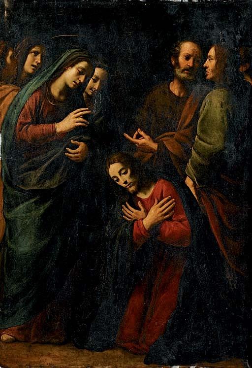 Commiato di Cristo dalla Vergine