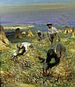 Sir George Clausen, R.A., R.W.S. (1852-1944), Christopher Wood, Click for value