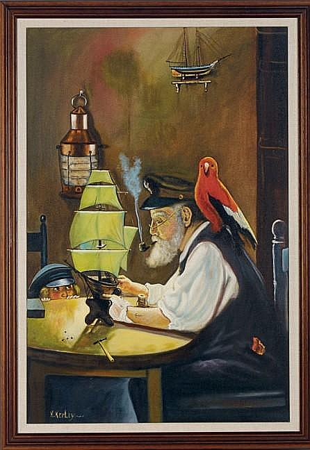 Ken Keeley (American, b. 1934)