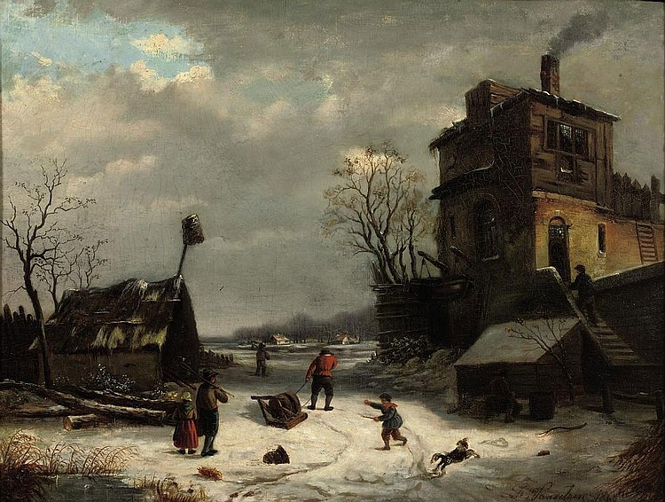Johannes Petrus van Velzen (Haarlem 1816-1853 Brussels)