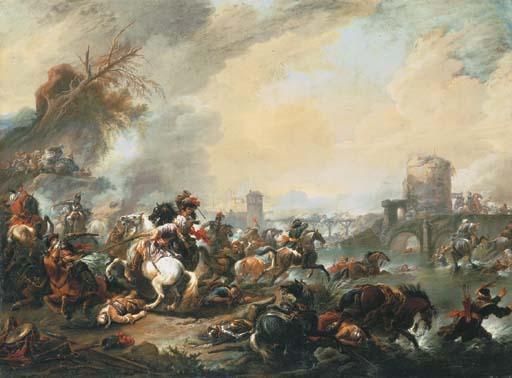Jan Wyck (Haarlem 1640-1702 Mortlake)