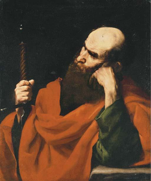 JUSEPE DE RIBERA, LO SPAGNOLETTO (Jativa 1591-1652 Naples)