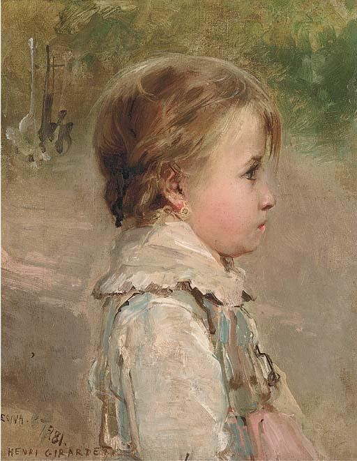Edouard-Henri Girardet (French, 1819-1880)