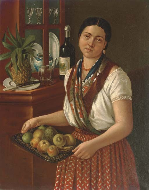 Jose Agustin Arrieta (Mexican 1803-1874)