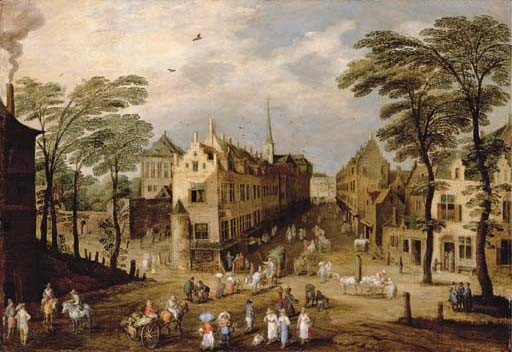 Jan Breughel I (Brussels 1568-1626 Antwerp) and Josse de Momper II (Antwerp 1564-1635)