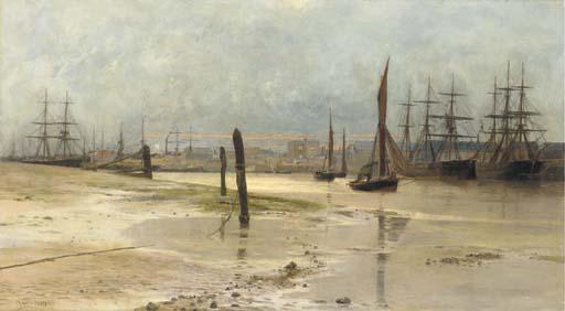 Charles William Wyllie (British, 1853-1923)