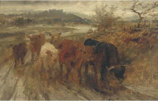 Atrributed to Joseph Denovan Adam, R.S.A., R.S.W. (1842-1896)