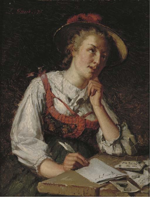 Lucien Gerard (Belgian, 1852-1935)