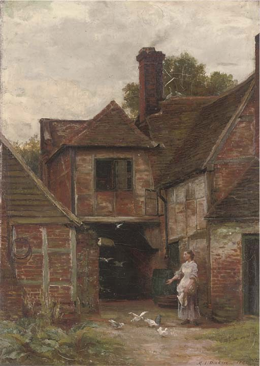 Margaret Isabell Dicksee (British, 1858-1903)