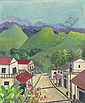 Village in the hills, Jamaica, Noël Coward, Click for value