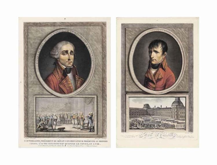 Charles François Gabriel Levachez, père et fils (active  circa  1760-1820) and Jean Duplessis-Bertaux (1747-1819)  after Louis Léopold Boilly (1761-1845)