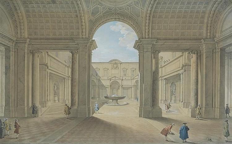 The Cortile del Belvedere, The Vatican