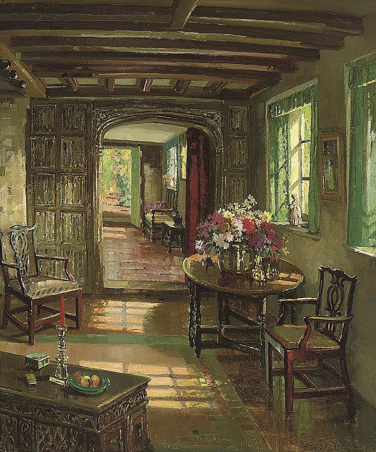 Herbert Davis Richter, R.I., R.S.W., R.O.I., R.B.A., R.B.C. (1874-1955)