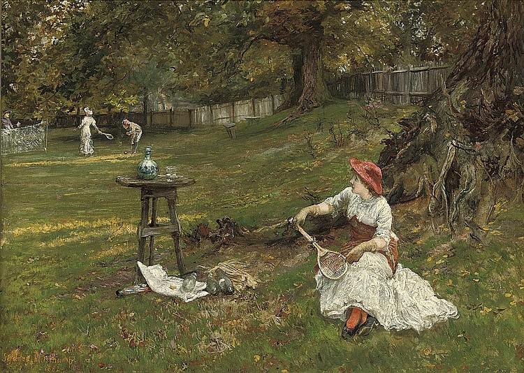 Francis Sydney Muschamp, R.B.A. (fl.1870-1903)