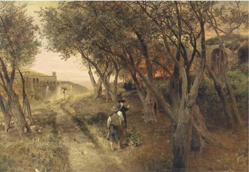 Oswald Achenbach (German, 1827-1905)