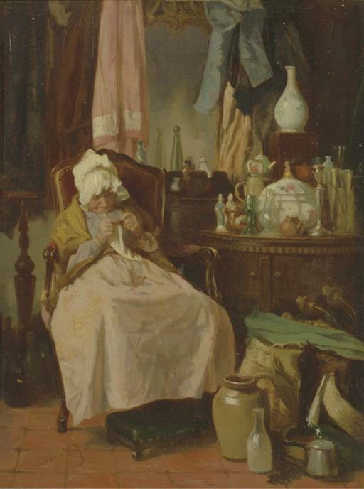 Alexander Hugo Bakker Korff (Dutch, 1824-1882)