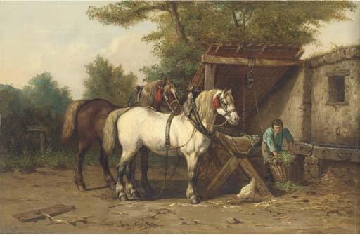 Jean Louis van Kuyck (Belgian, 1821-1871)