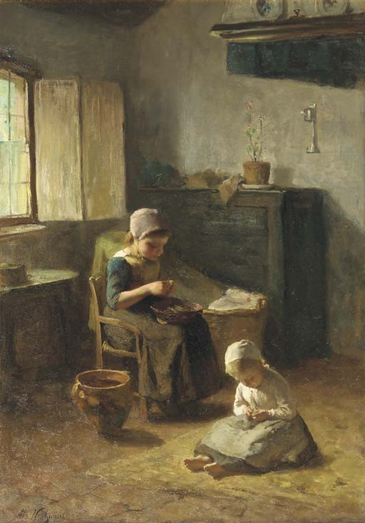 Albert Neuhuys (Dutch, 1844-1914)