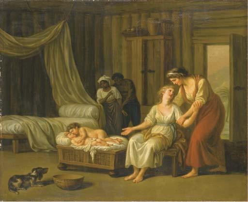 NICOLAS-RENE JOLLAIN (PARIS 1732-1804)