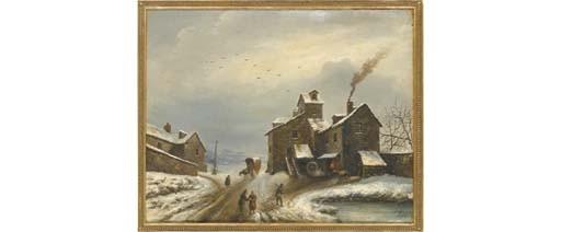 LOUIS-CLAUDE MALLEBRANCHE (CAEN 1790 - 1838)