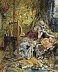 EDUARDO-LEON GARRIDO (MADRID 1856 - 1949 CAEN), Eduardo Leon Garrido, Click for value