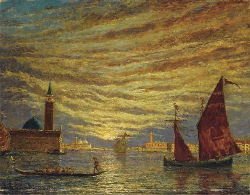HENRY GERARD (TOULOUSE 1860 - 1925 MARTIGUES)