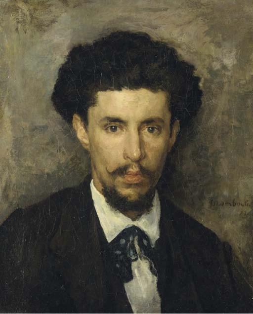 MARCELIN GILBERT DESBOUTIN (CERILLY 1823 - 1902 NICE)