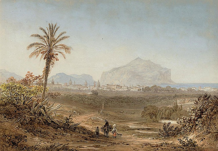 Friedrich Horner (Swiss, 1800-1864) and R. Müller (German, 19th Century)