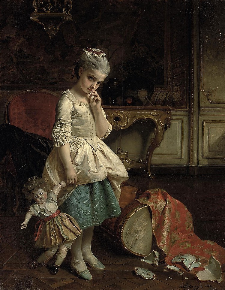 Henry Guillaume Schlesinger (FRENCH, 1814-1893)
